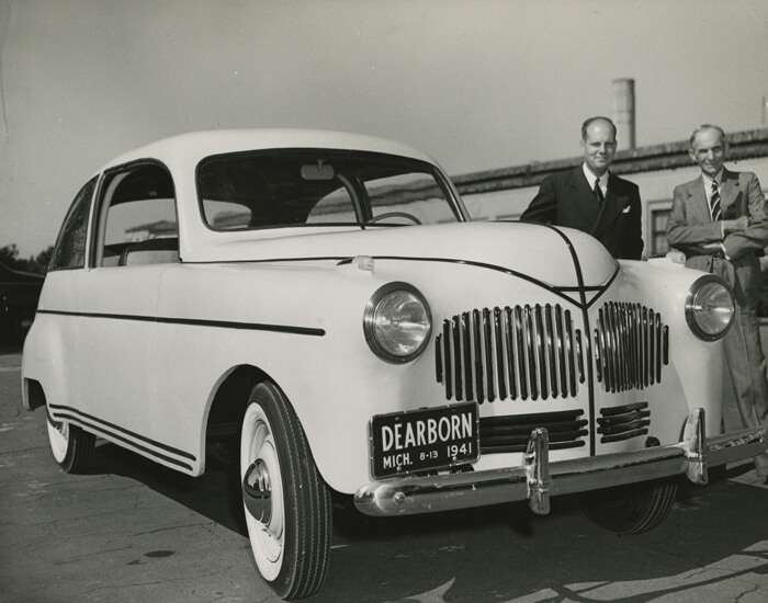Henry Ford's Soybean Car