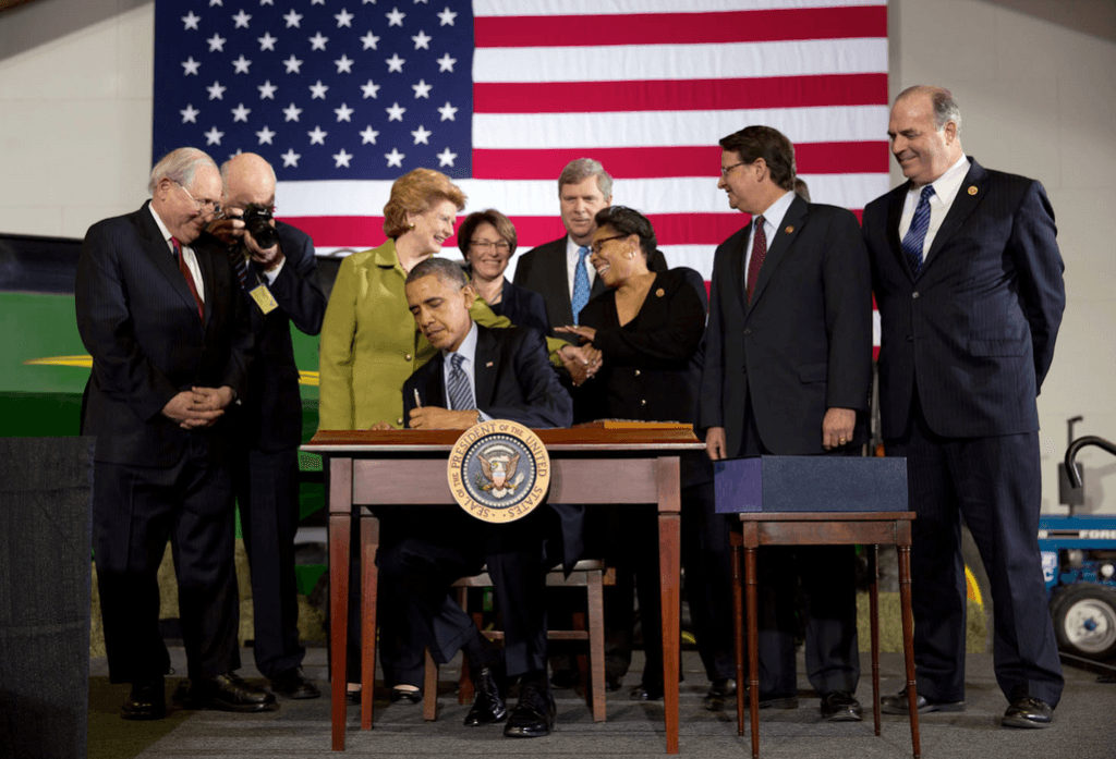 Obama signs 2014 Farm Bill