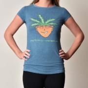 Women's Round Neck Hemp T-Shirt