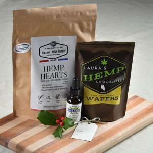 Hemp Holiday Basket