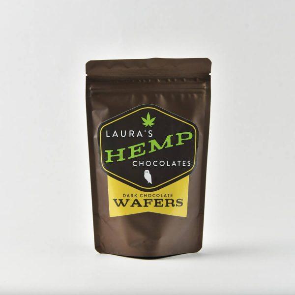 Laura's Hemp Chocolate Wafers