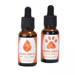 Natural Hemp Oil for Humans and Pets Combo Deal