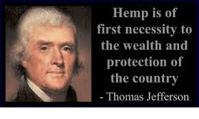 Thomas Jefferson Hemp Quote