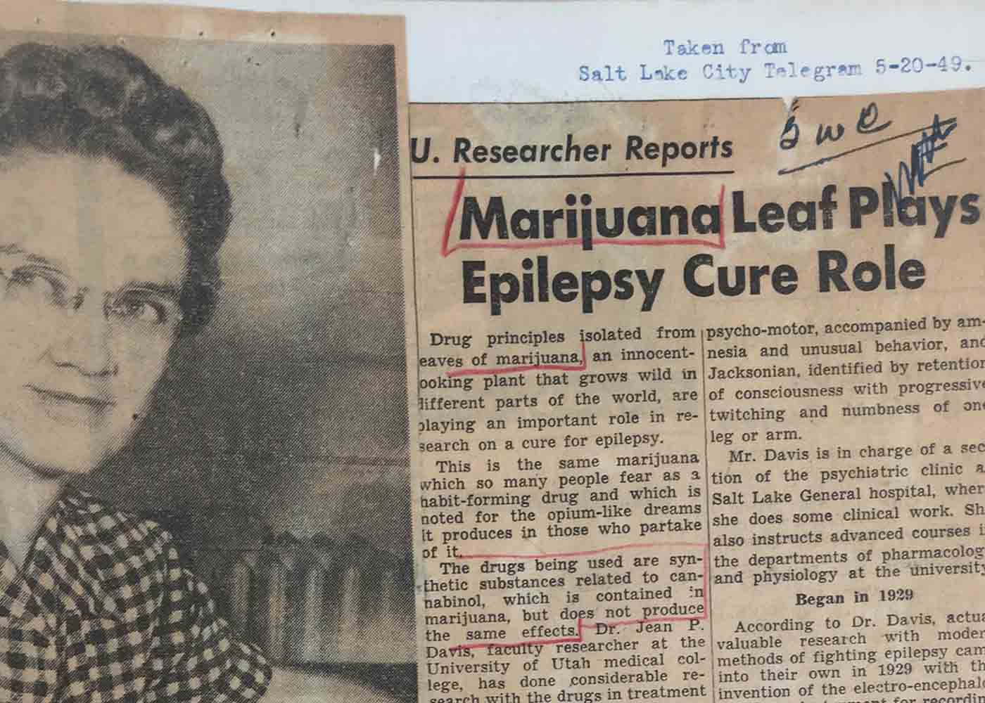 cannabis plays role in epilepsy cure since 1949